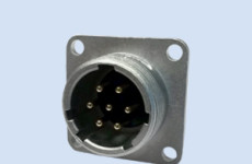 Male connector (miniature) 7 Poles