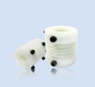 Flexible plastic coupling
