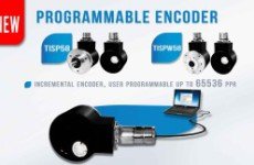 NEW PROGRAMMABLE ENCODER TISP58/TISPW58