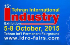 TEHRAN INTERNATIONAL INDUSTRY — 2015, IRAN, October 5-8