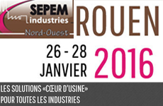 SEPEM INDUSTRIES — 2016, ROUEN, FRANCE, January 26 — 28
