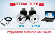 SPECIAL OFFER – programmable encoders TISP58/TISPW58!